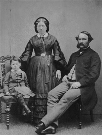 James, Mary and Harry Yates